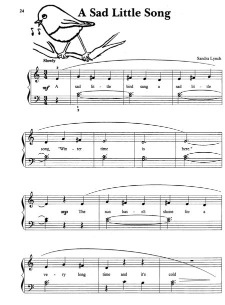 A Sad Little Song (with Teacher's Accompaniment)