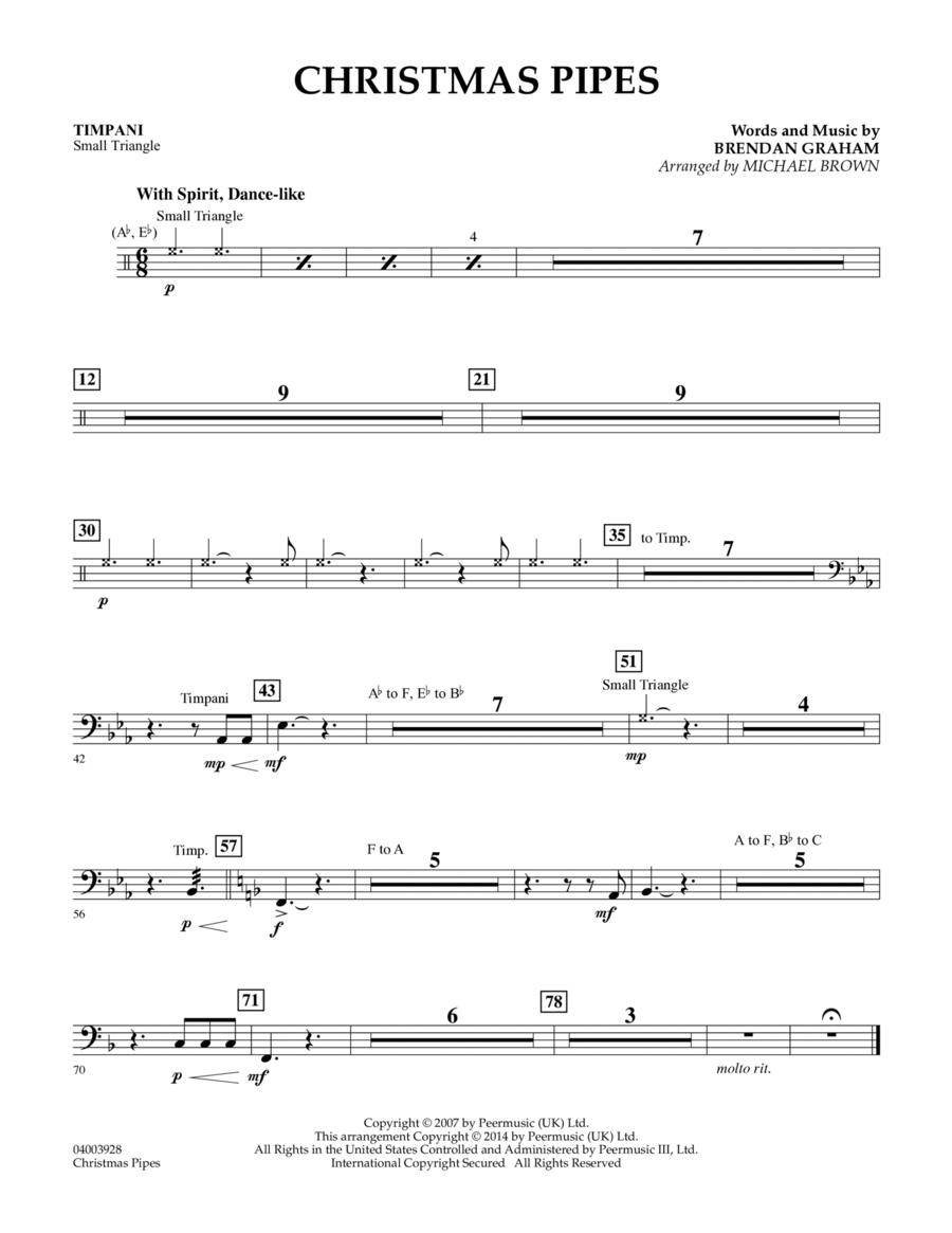 Christmas Pipes - Timpani