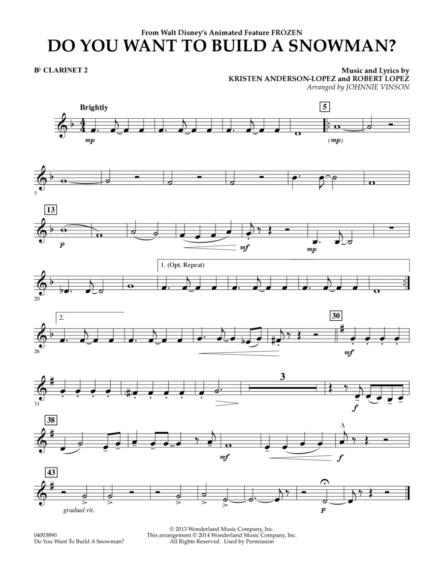 Download Do You Want To Build A Snowman? (from Frozen ...