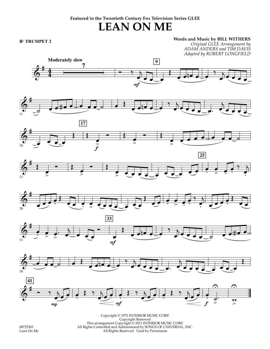 Lean On Me - Bb Trumpet 2