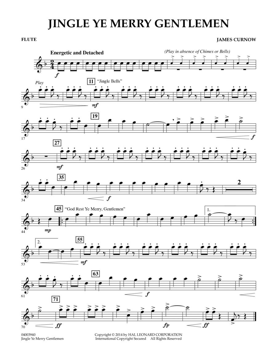 Jingle Ye Merry Gentlemen - Flute