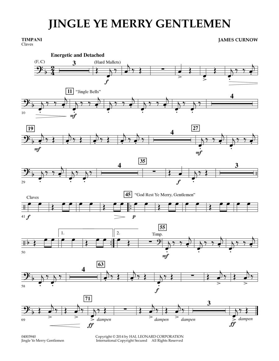 Jingle Ye Merry Gentlemen - Timpani