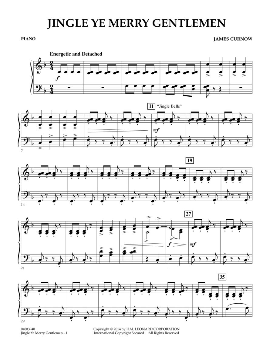 Jingle Ye Merry Gentlemen - Piano