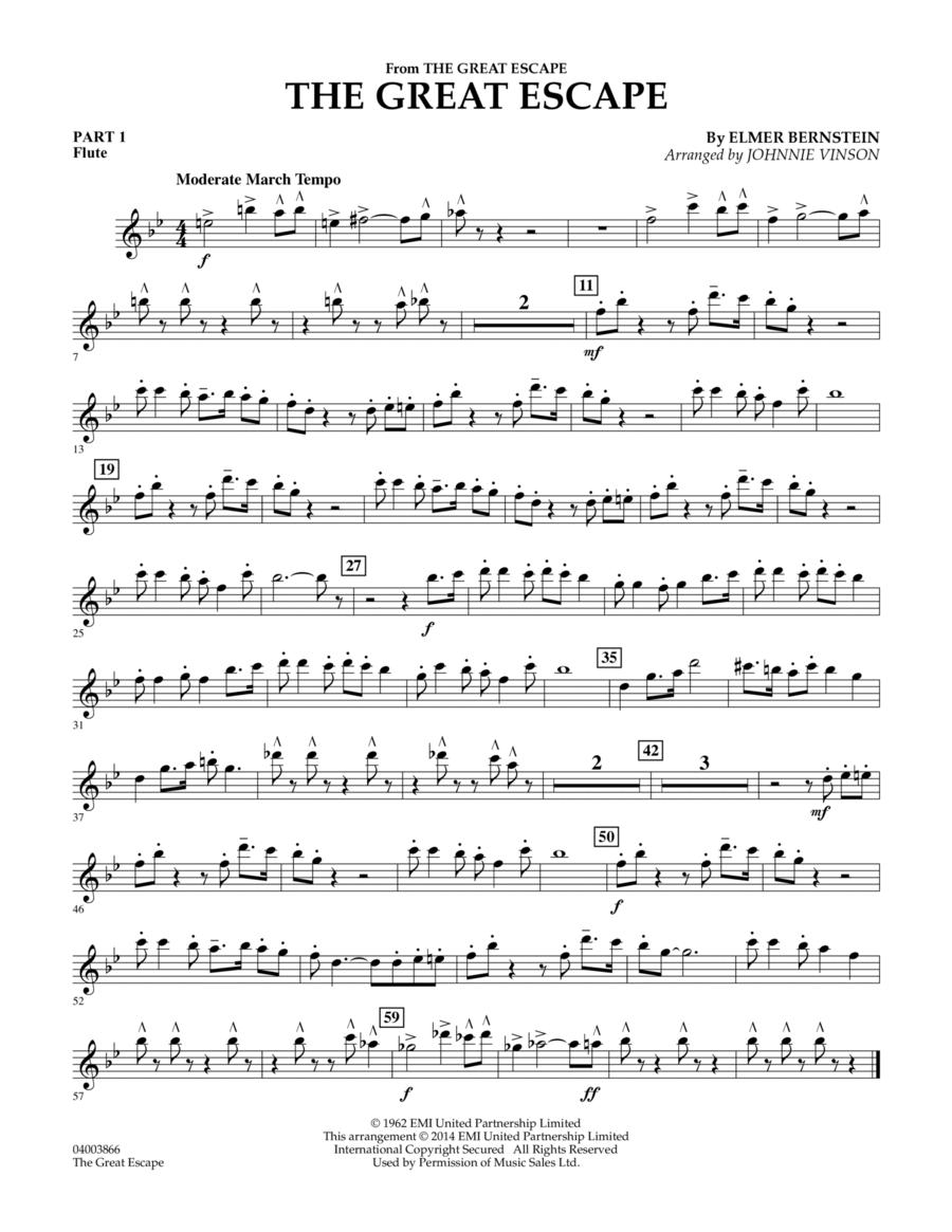 The Great Escape (March) - Pt.1 - Flute
