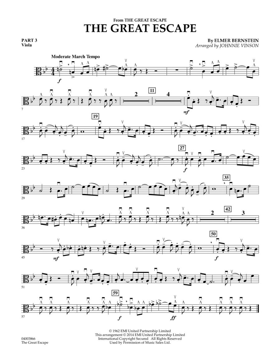 The Great Escape (March) - Pt.3 - Viola