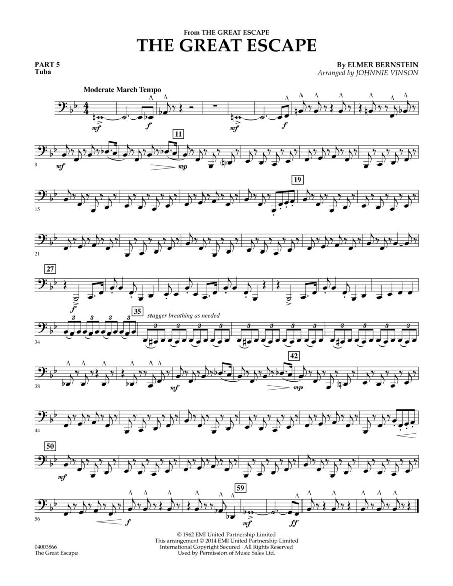 The Great Escape (March) - Pt.5 - Tuba