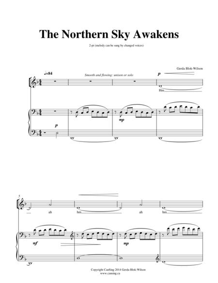 The Northern Sky Awakens