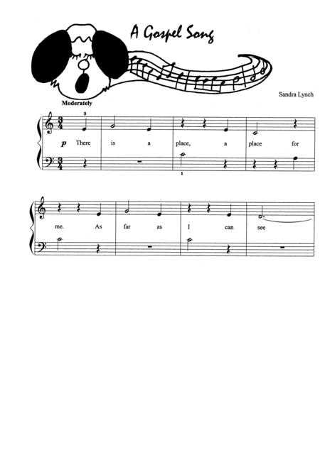 A Gospel Song (with Teacher's Accompaniment)