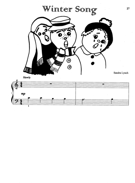 Winter Song (with Teacher's Accompaniment)