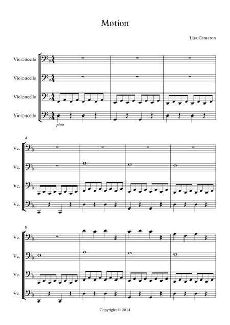 Motion - Easy Cello Quartet