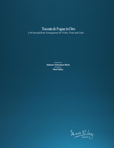 Toccata and Fugue in Dm (Epic Rock Arrangement) - Violin/Viola & Accompaniment Track