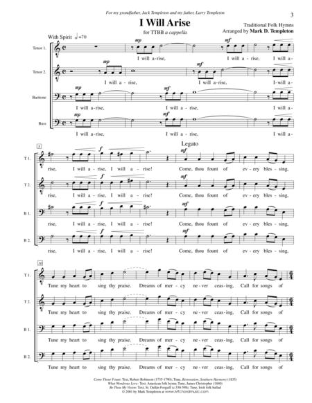 I Will Arise (medley)