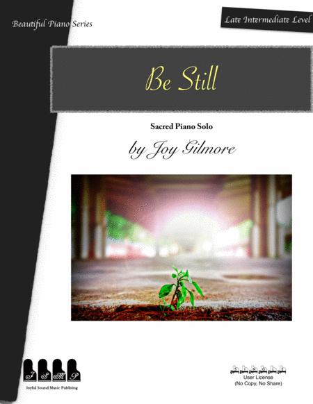 Be Still for Piano Solo