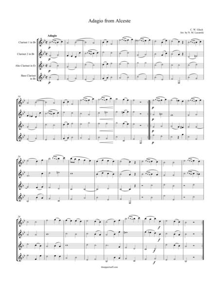 Adagio from Alceste