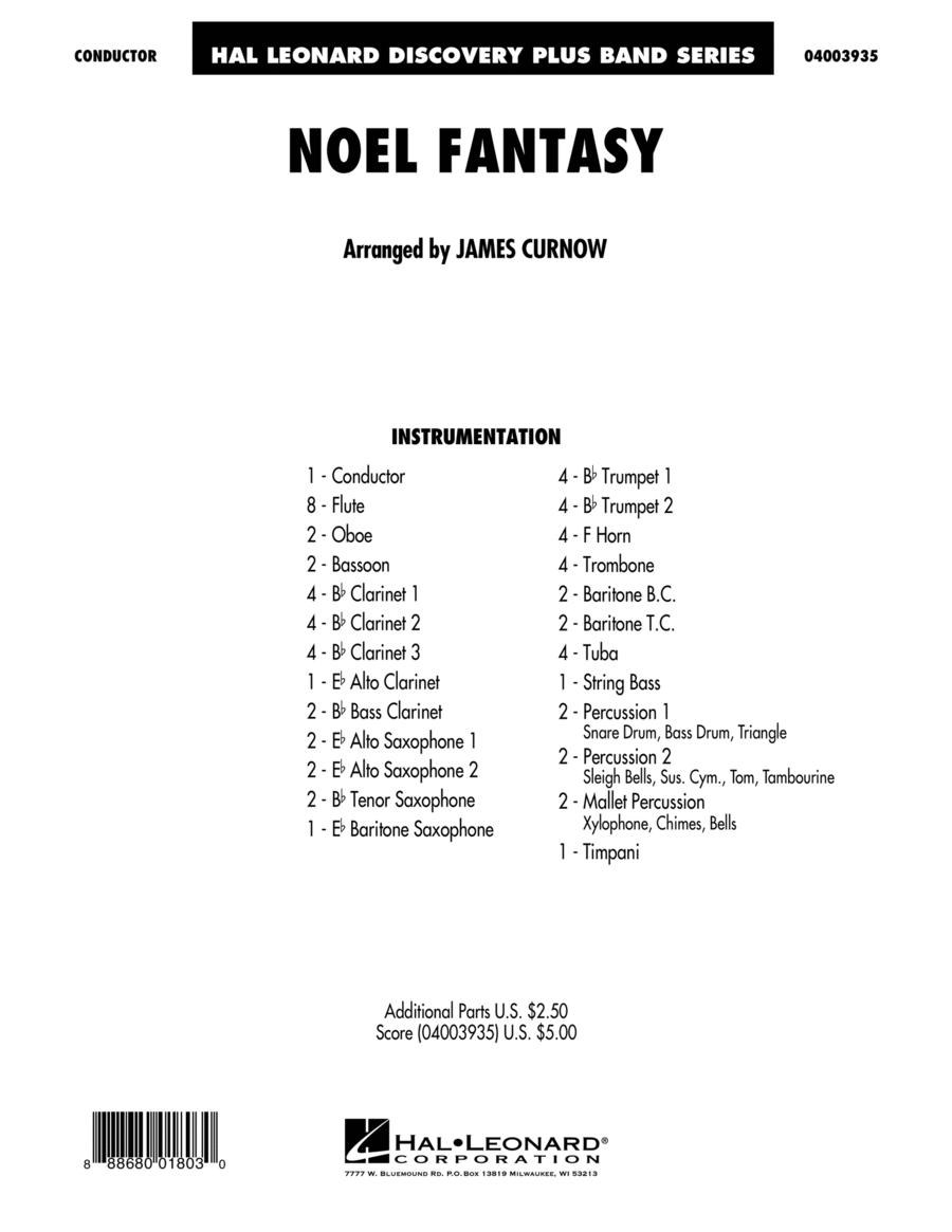 Noel Fantasy - Conductor Score (Full Score)