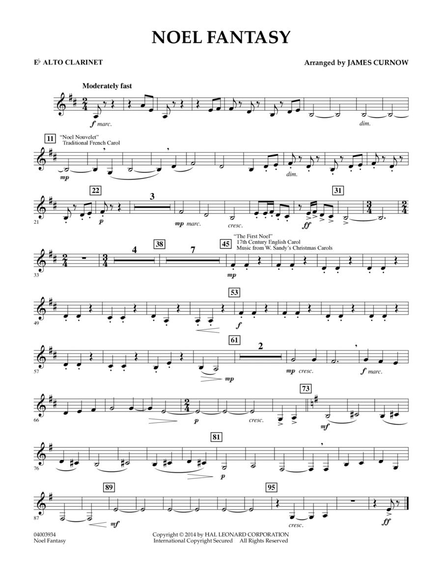 Noel Fantasy - Eb Alto Clarinet