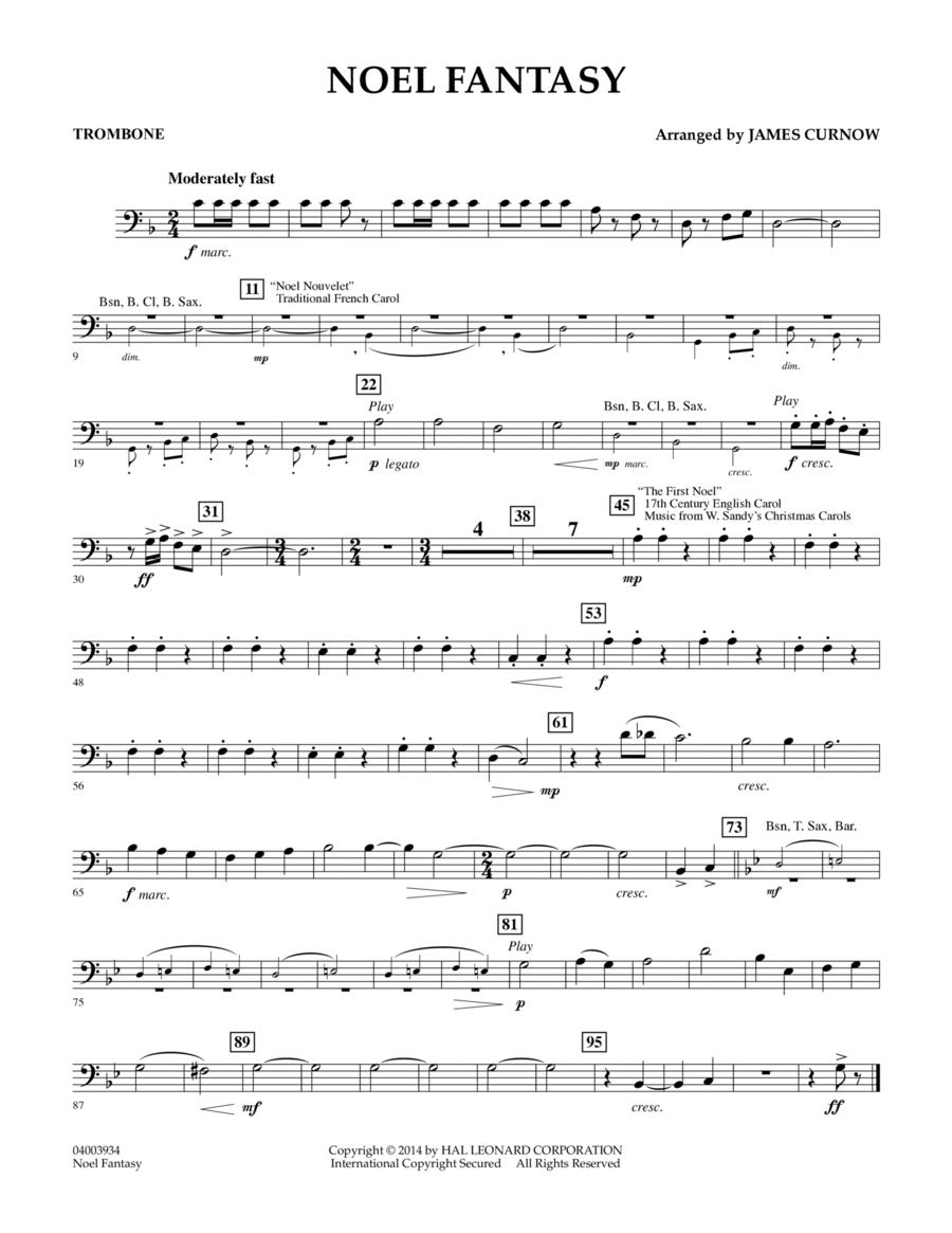 Noel Fantasy - Trombone
