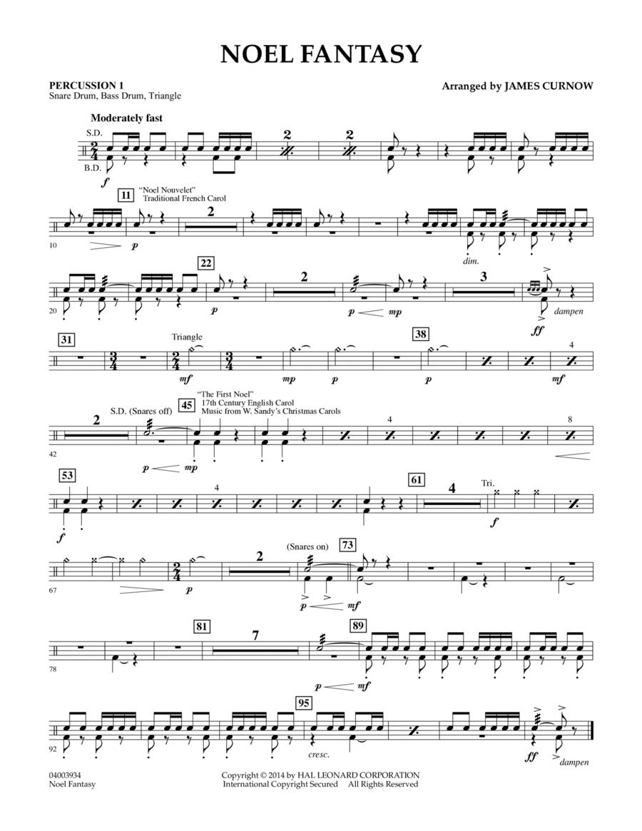 Noel Fantasy - Percussion 1