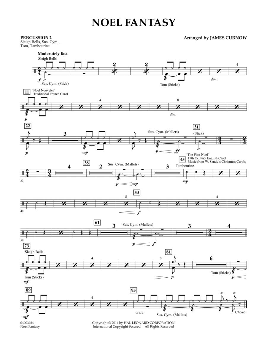 Noel Fantasy - Percussion 2
