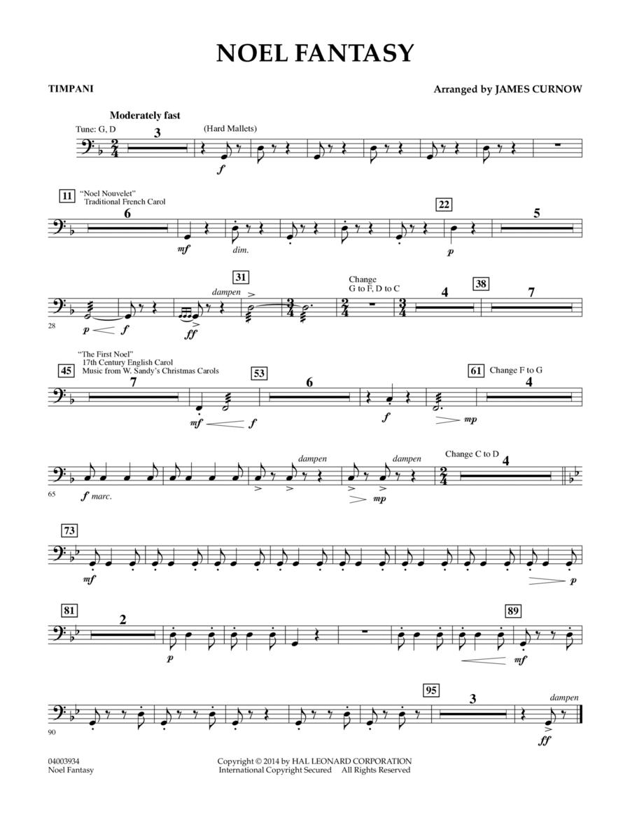 Noel Fantasy - Timpani