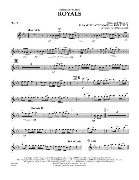 Royals - Flute