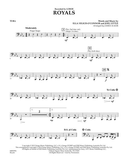 Royals - Tuba