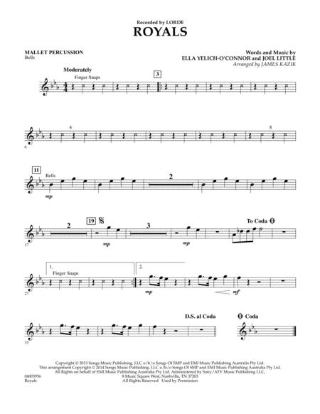 Royals - Mallet Percussion
