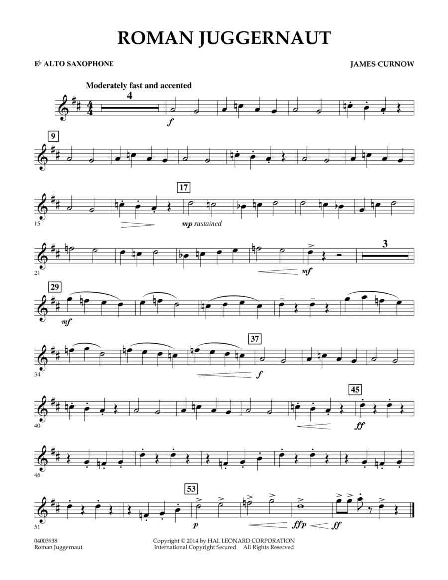 Roman Juggernaut - Eb Alto Saxophone