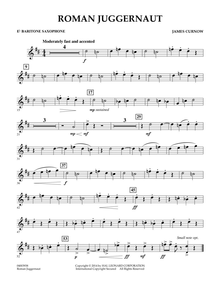 Roman Juggernaut - Eb Baritone Saxophone