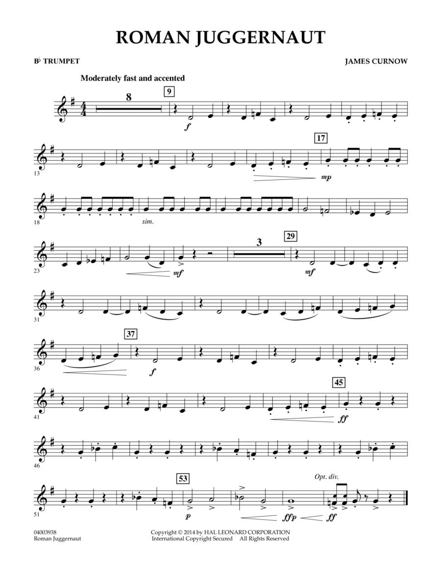 Roman Juggernaut - Bb Trumpet