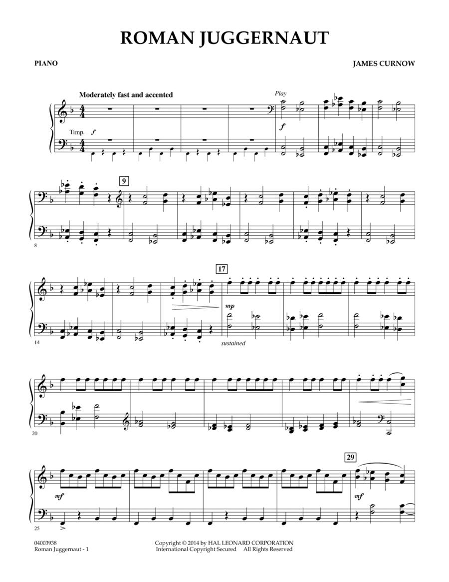Roman Juggernaut - Piano