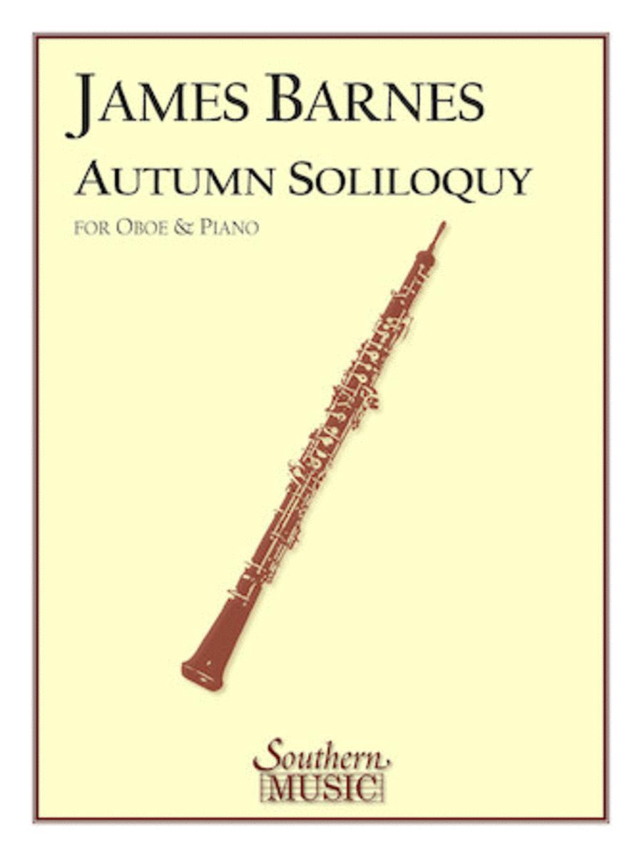 Autumn Soliloquy