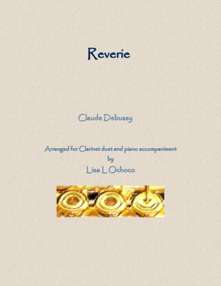 Reverie for Clarinet Duet and Piano