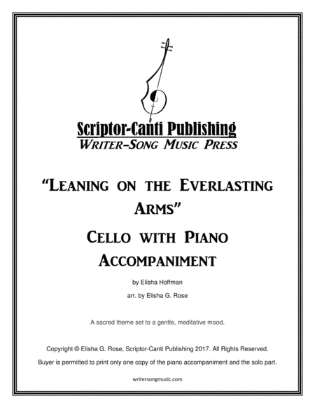 Leaning on the Everlasting Arms - Cello