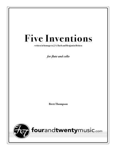 Five Inventions for Flute and Cello