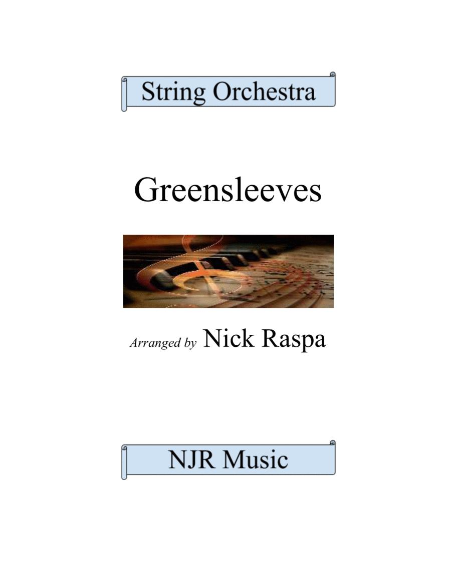 Greensleeves (variations)