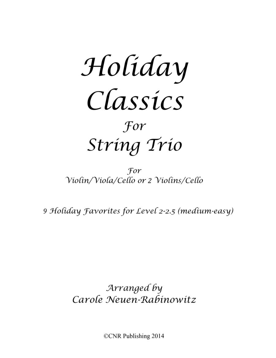 Holiday Classics for String Trio
