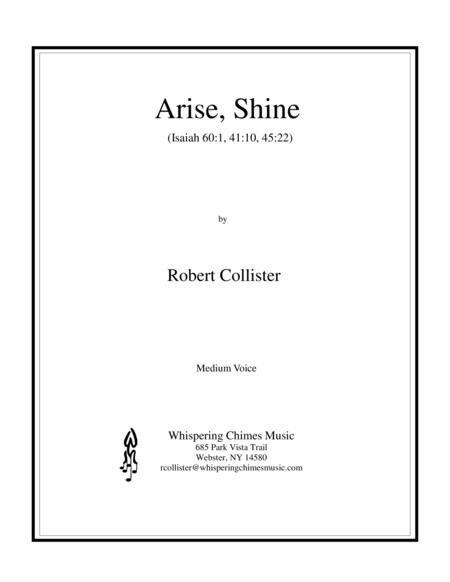 Arise, Shine (Medium Voice)