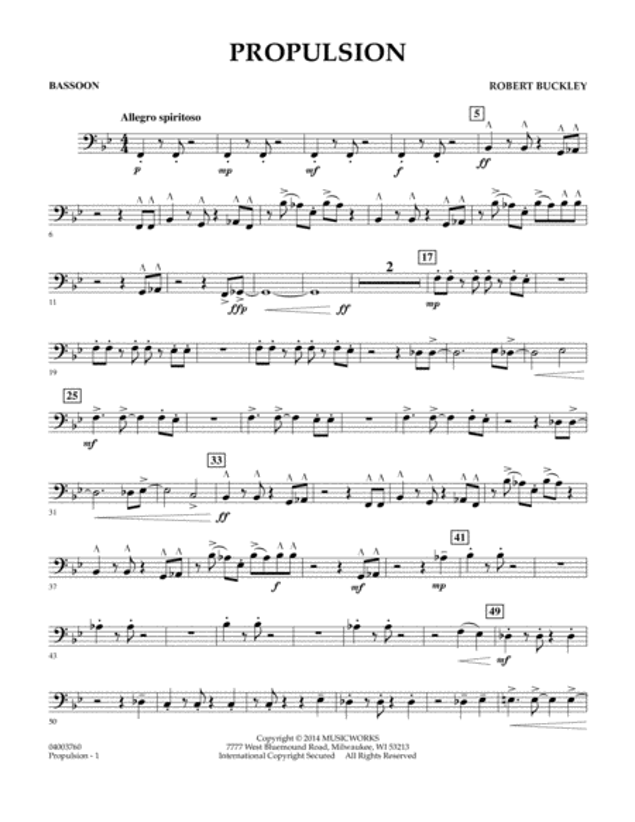 Propulsion - Bassoon