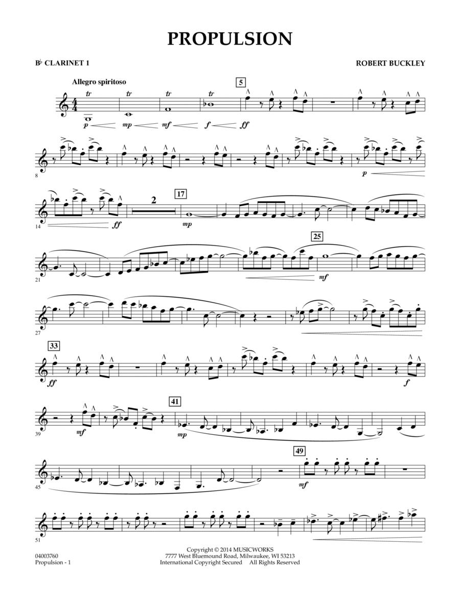 Propulsion - Bb Clarinet 1