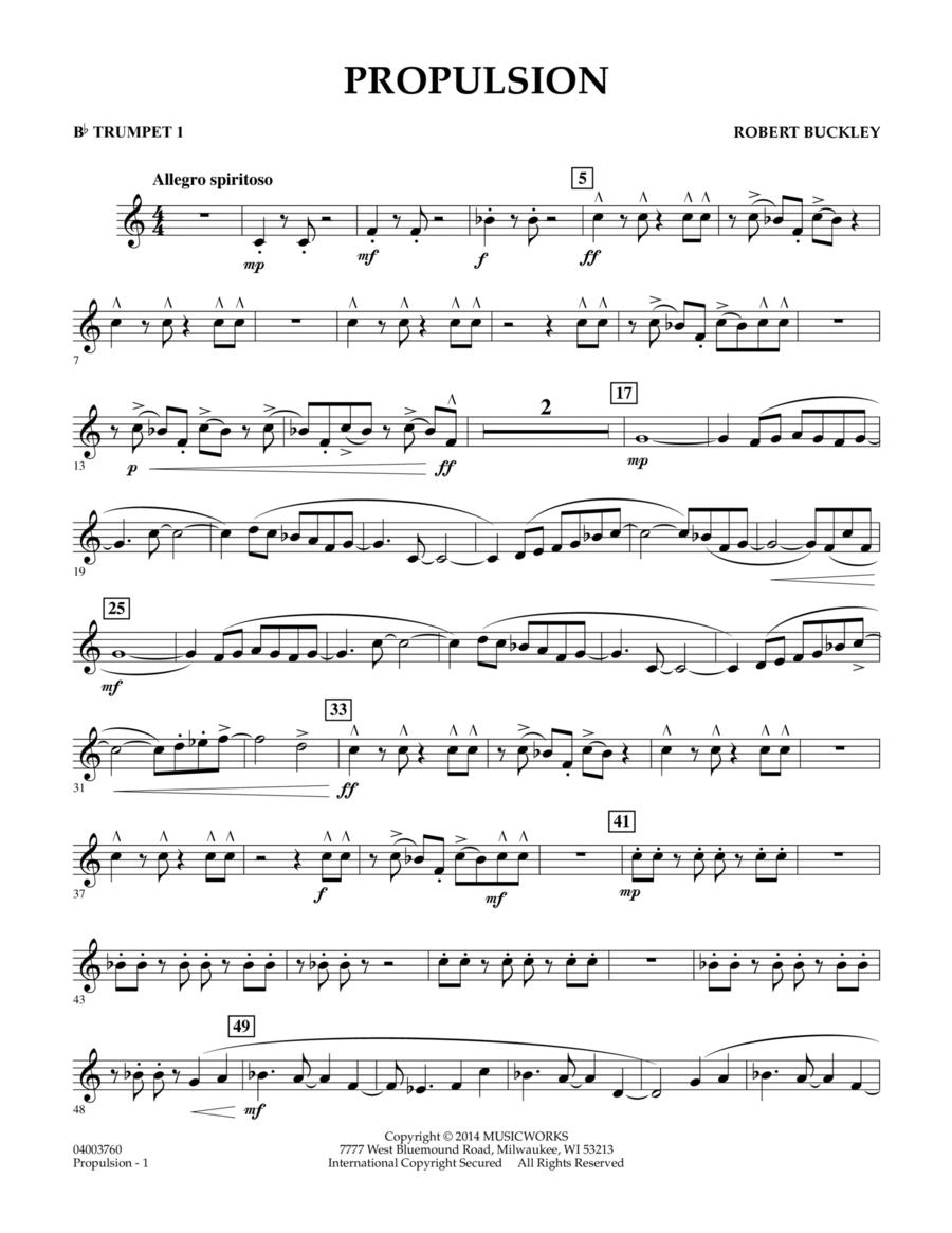 Propulsion - Bb Trumpet 1