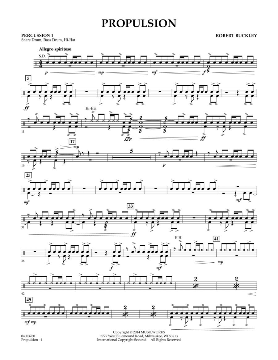 Propulsion - Percussion 1
