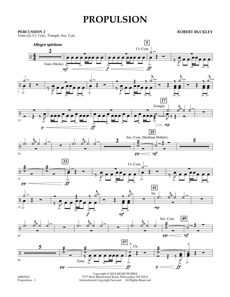 Propulsion - Percussion 2