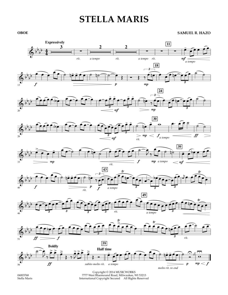 Stella Maris - Oboe