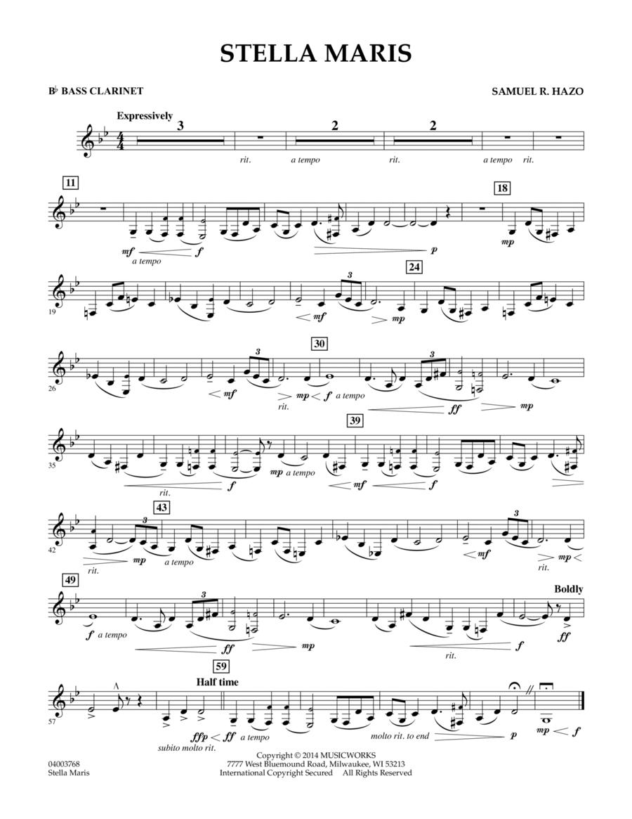 Stella Maris - Bb Bass Clarinet
