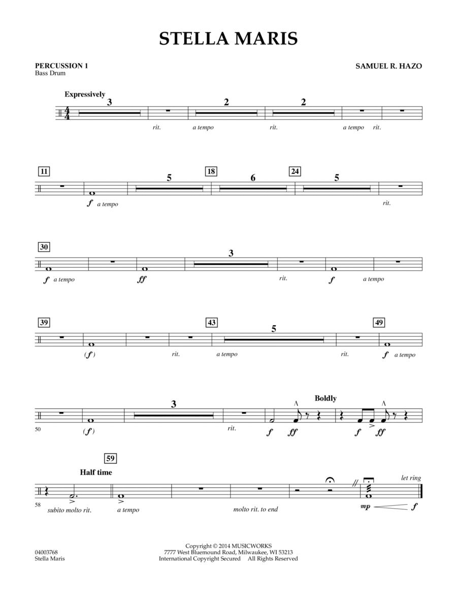 Stella Maris - Percussion 1