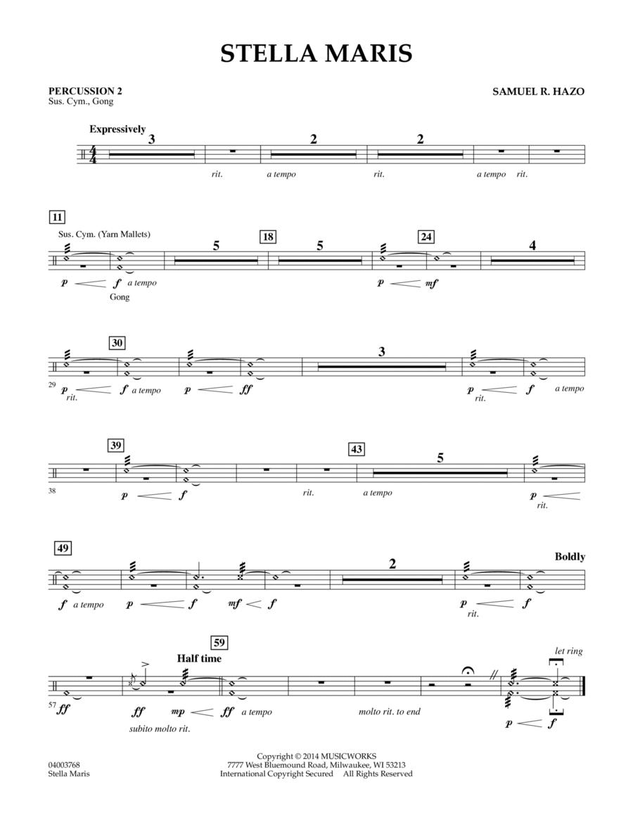 Stella Maris - Percussion 2