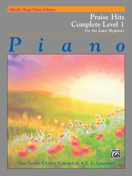 Alfred's Basic Piano Course - Praise Hits Complete, Book 1