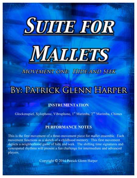 Suite for Mallets - Movement 1