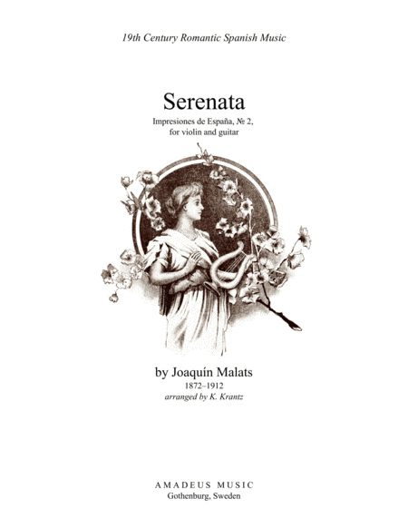 Serenata espanola (A Minor) for violin and guitar